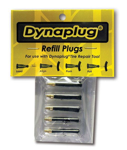 Replacement plugs (x5) for Dynaplug Tubeless Tyre Repair Kit