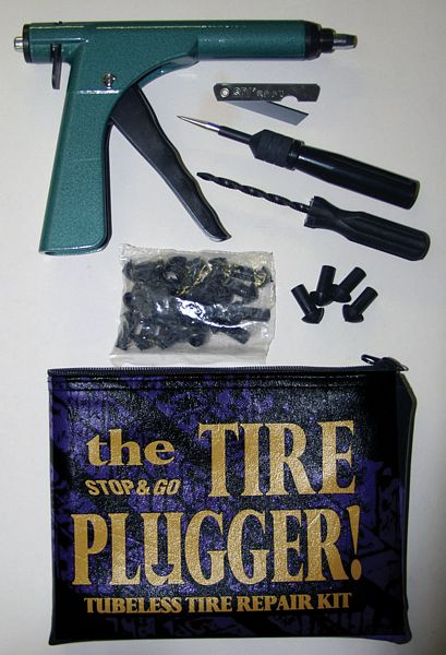 Stop 'n Go Deluxe Tyre Plugger Kit