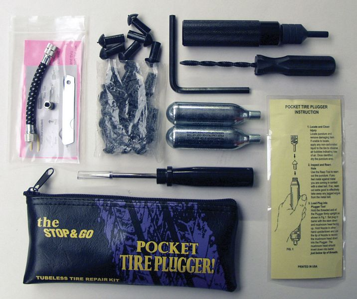 Stop 'n Go Super Pocket Tyre Plugger Kit