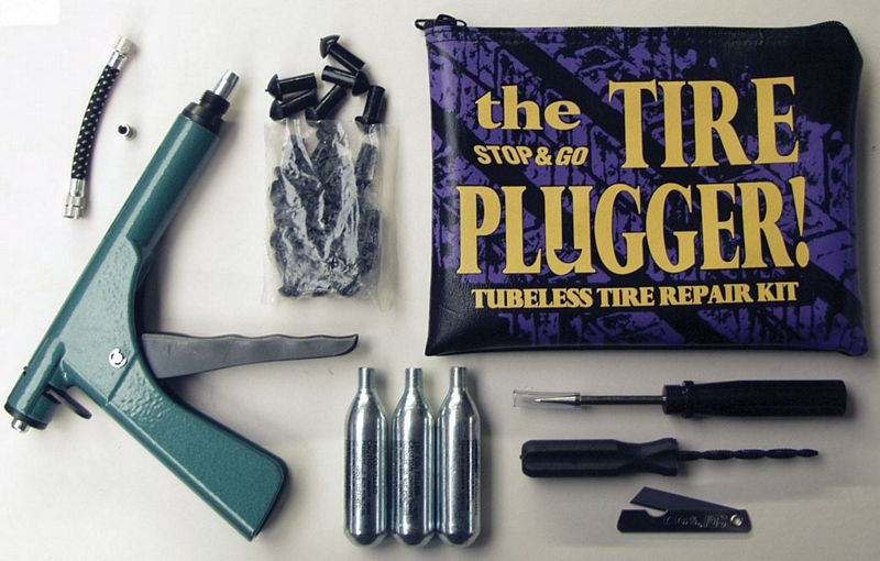 Stop 'n Go Super Deluxe Tyre Plugger Kit